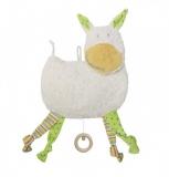 Efie Spieluhr Esel bunt, kontrolliert biologischer Anbau (organic) | natureline